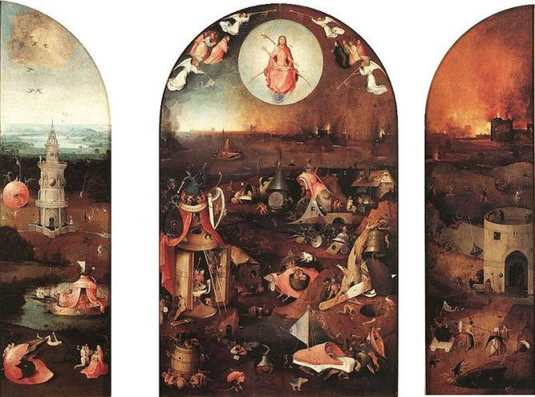 Hieronymus Bosch, The Last Judgment, circa 1486-1510 | WikiCommons