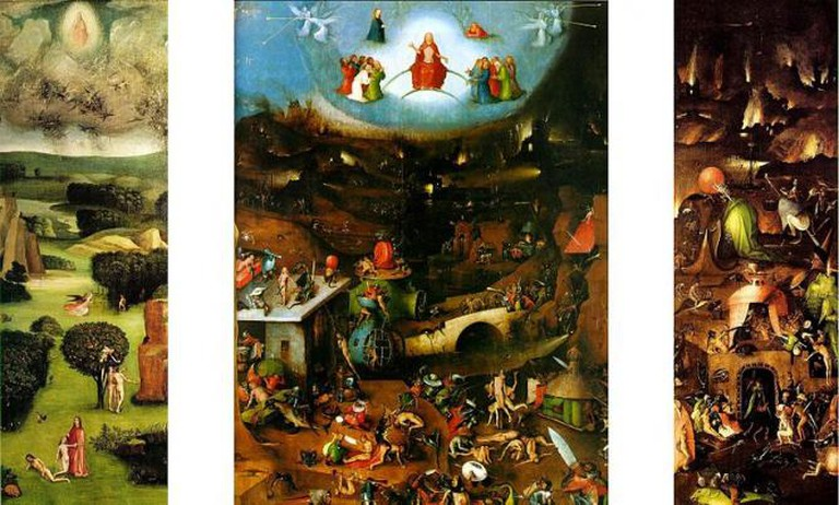 Hieronymus Bosch, The Last Judgment, circa 1482 and circa 1516 | WikiCommons