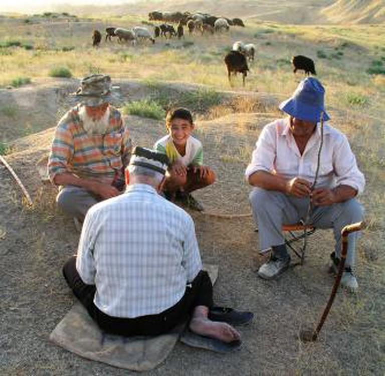 Uzbek farmers in Uzbekistan