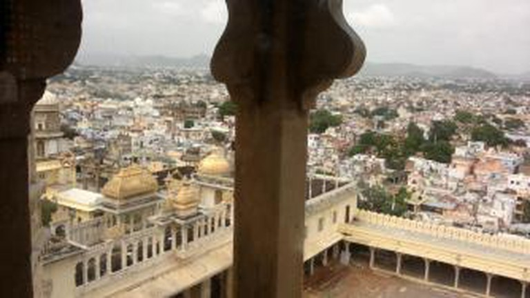 Udaipur seen from City Palace