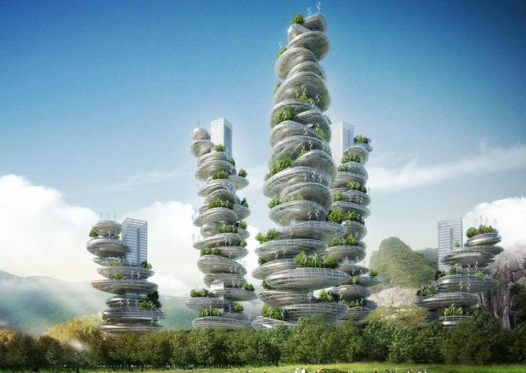 Asian Cairns, Vincent Callebaut Architects