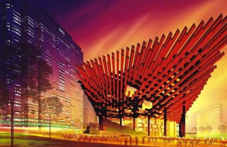 The Chongqing Guotai Arts Center /