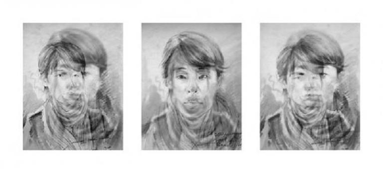 Nikki S. Lee, 'Layers, Seoul 1, 2, 3′, 2007 C-print. Image courtesy Nikki S. Lee and Sikkema Jenkins & Co., New York.