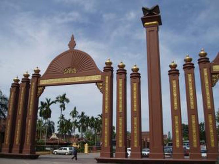 Sultan Ismail Petra Arch, Kota Bharu © Tony Jones/WikiCommons
