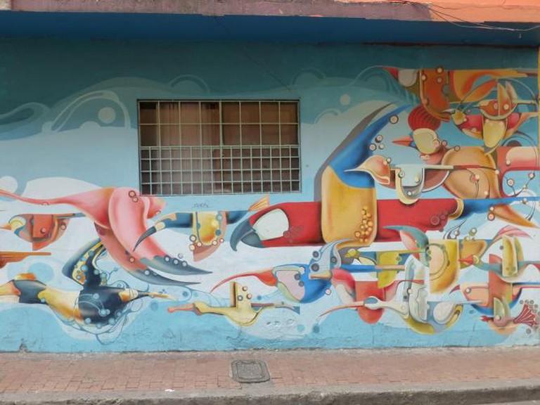 Rodez Colombian Street Art