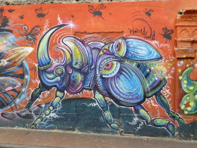 Nomada Colombia Street Art