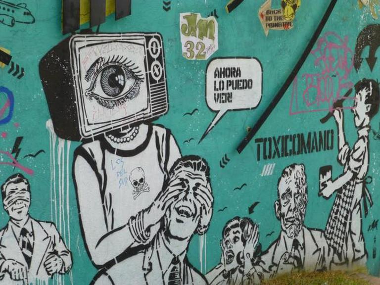 Toxicomano Colombia Street Art