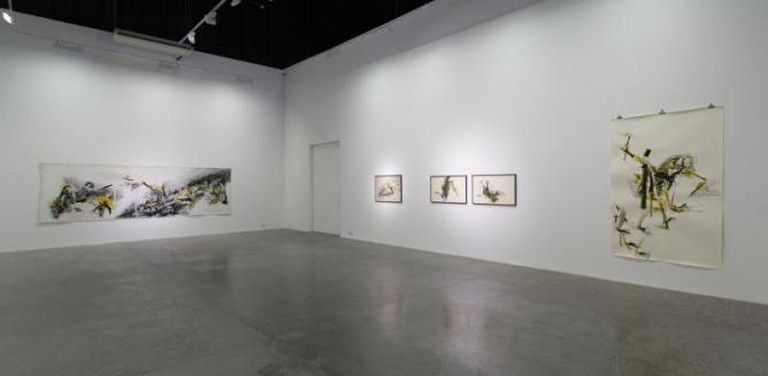 Acid Fields: Installation View