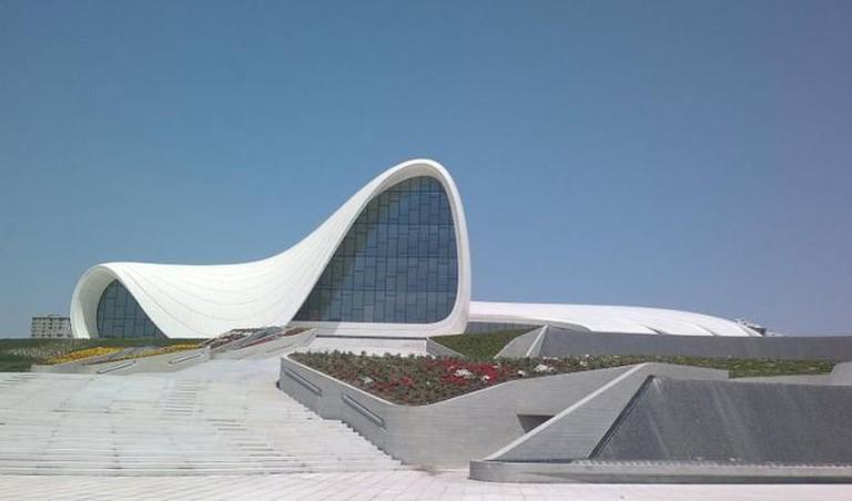 Heydar Aliyev Cultural Center in Baku, Azerbaijan