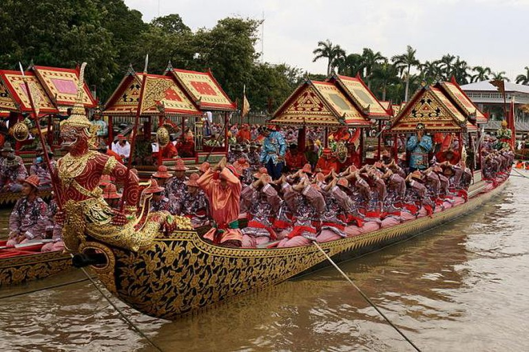 Thai Festivals Barge