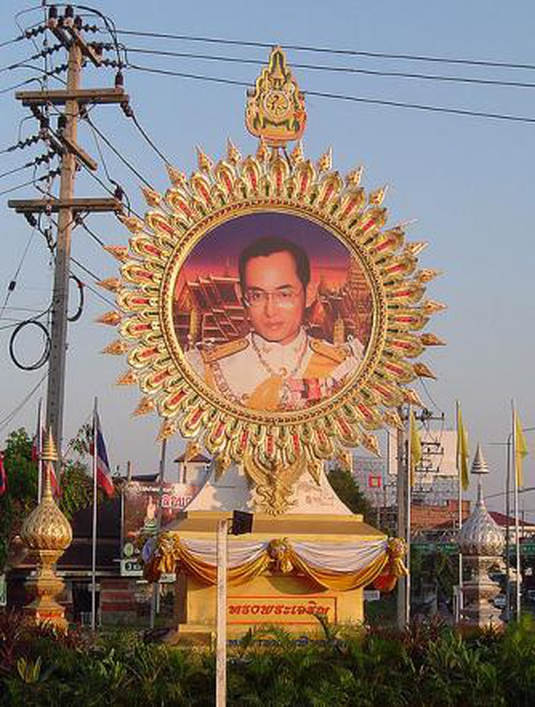 Thai King Birthday Procession