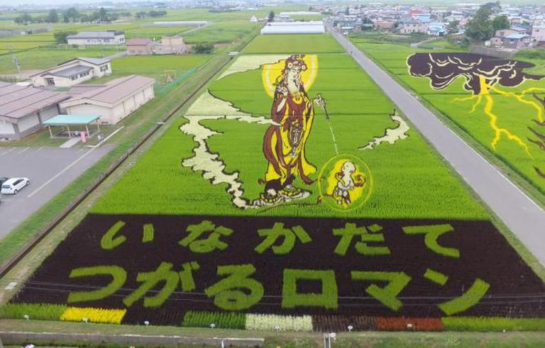 Inakadate rice paddy art