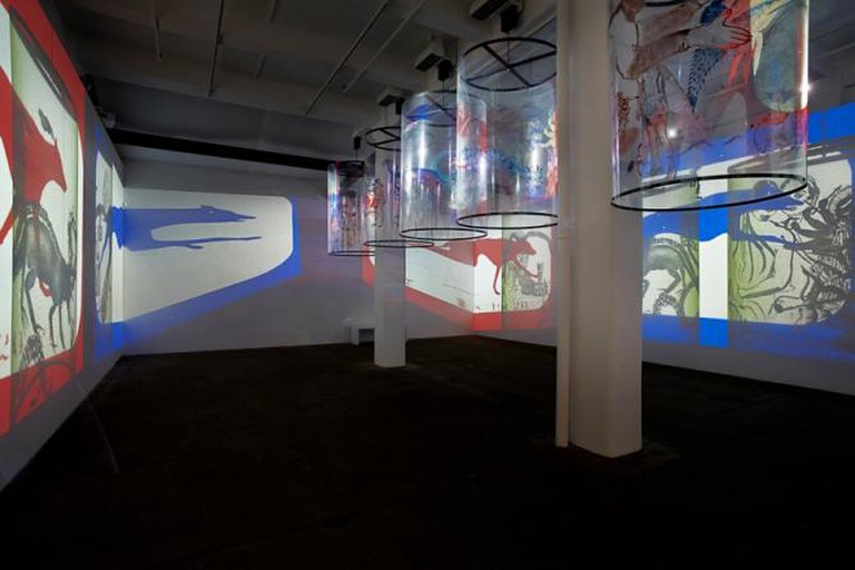 Nalini Malani, In Search of Vanished Blood, Galerie Lelong, New York, 2013