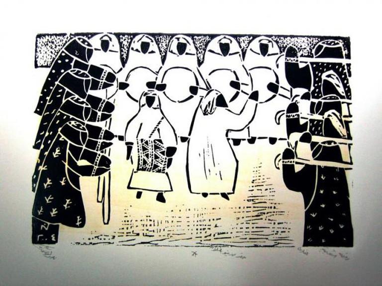 Bahrain art
