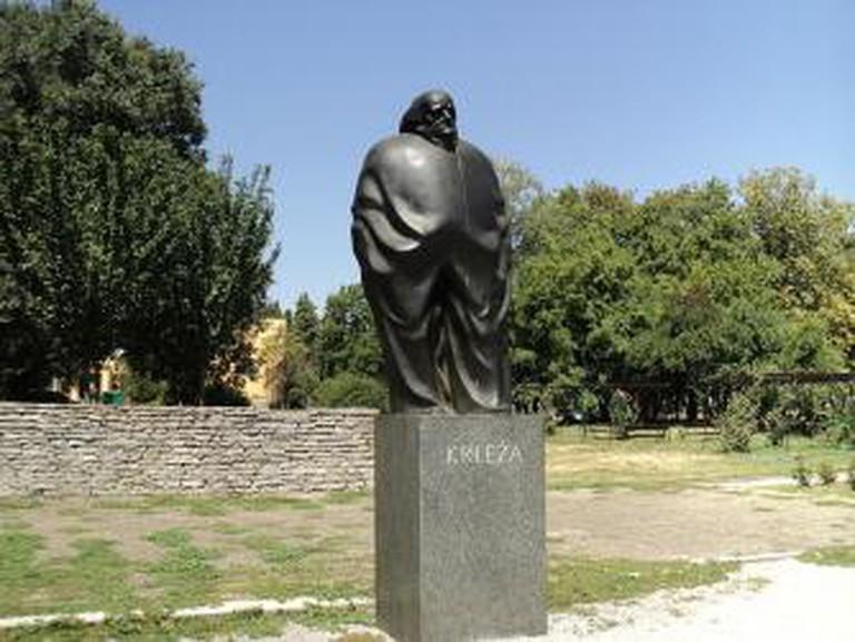 Miroslav Krleža Statue