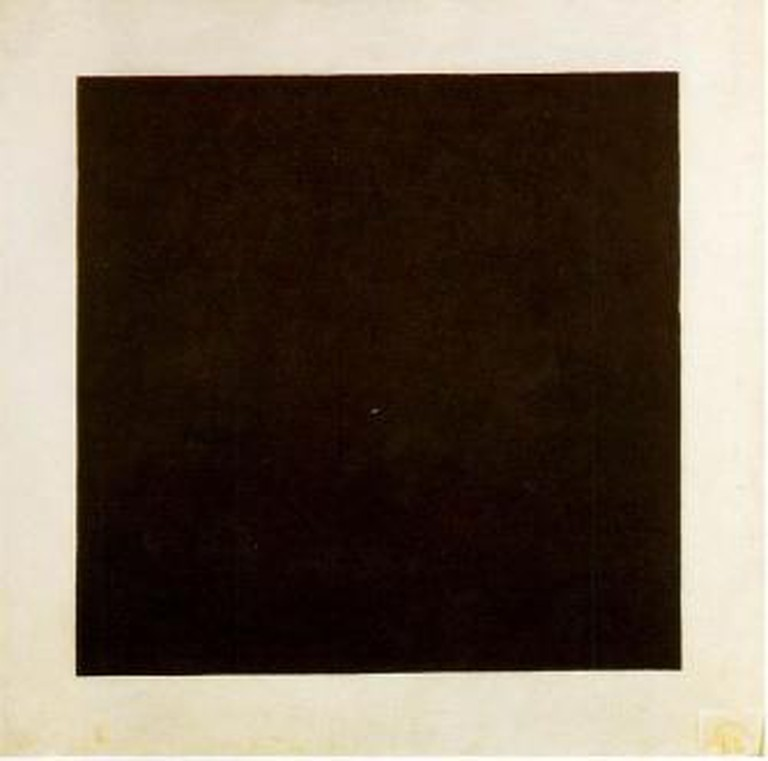 Kazimir Malevich, 'Black Square', 1920s, Oil on canvas, 106 x 106 cm, The Russian Museum, St. Petersburg, Russia