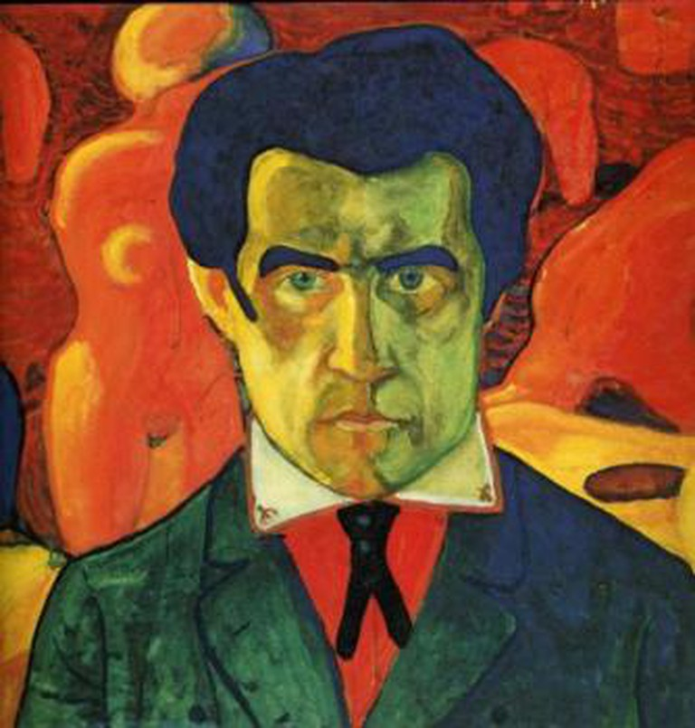 Kazimir Malevich, Self Portrait