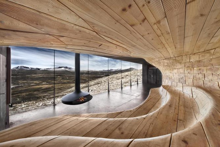 Norwegian Wild Reindeer Center Pavilion by Snøhetta