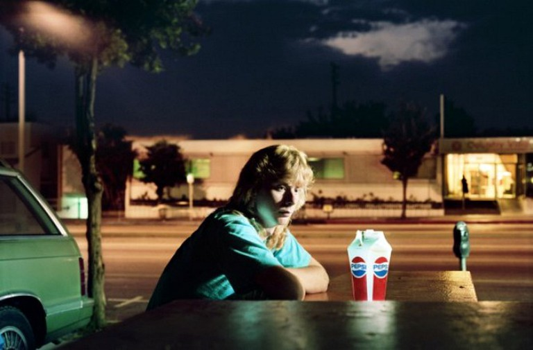 Philip-Lorca diCorcia, Brent Booth, 21 years old, Des Moines, Iowa, $30, 1990-92 from the Hustlers series