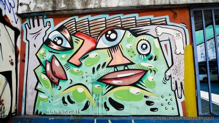 San Telmo Art and History Walk