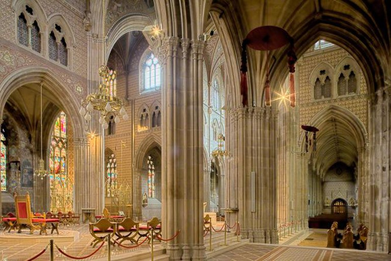 Interior of St. Patrick's Catholic cathedral