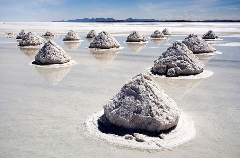 Bolivian salt plains