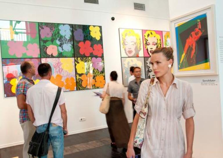 Pizana Gallery, Andy Warhol Exhibition | © Galerija PIZANA