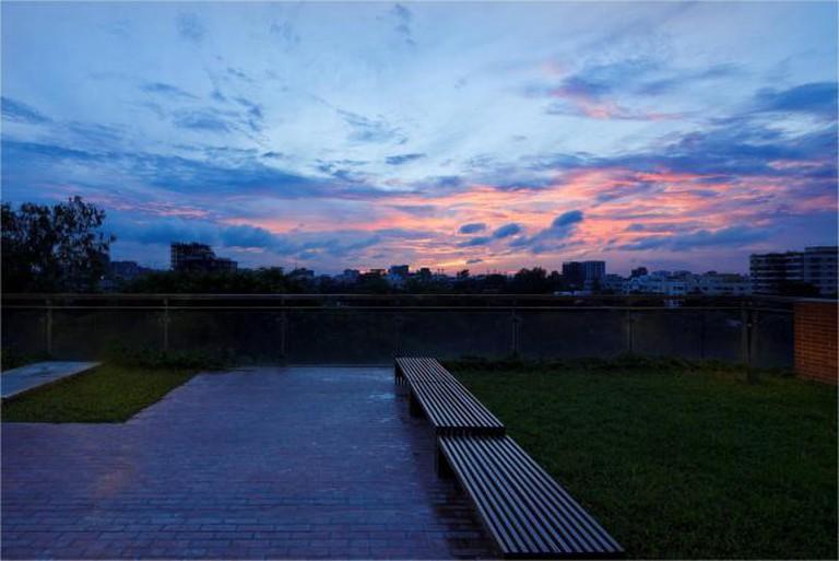 Twilight and Terrace, Dhaka, Bangladesh (2012)