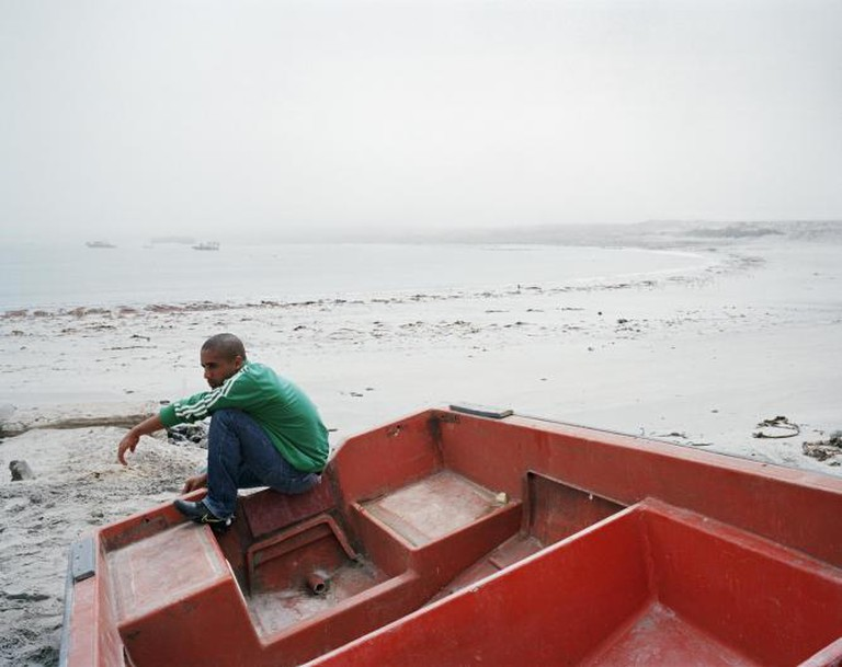 Malcolm Cloete, Hondeklip Bay, Northern Cape, 2012   © Ilan Godfrey