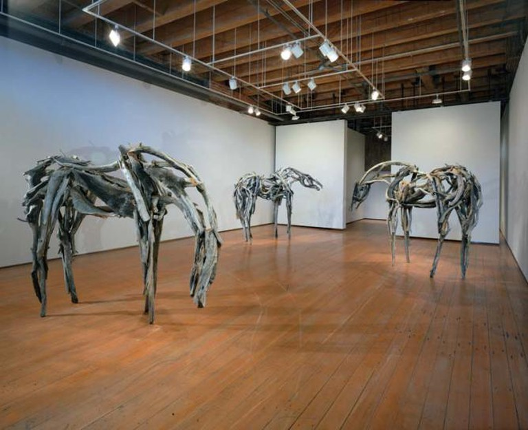 Deborah Butterfield, installation view | Courtesy of Greg Kucera Gallery.