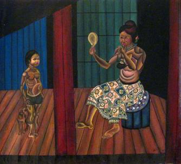 Oeur Sokuntevy | © Courtesy of Java Arts Gallery and the artist