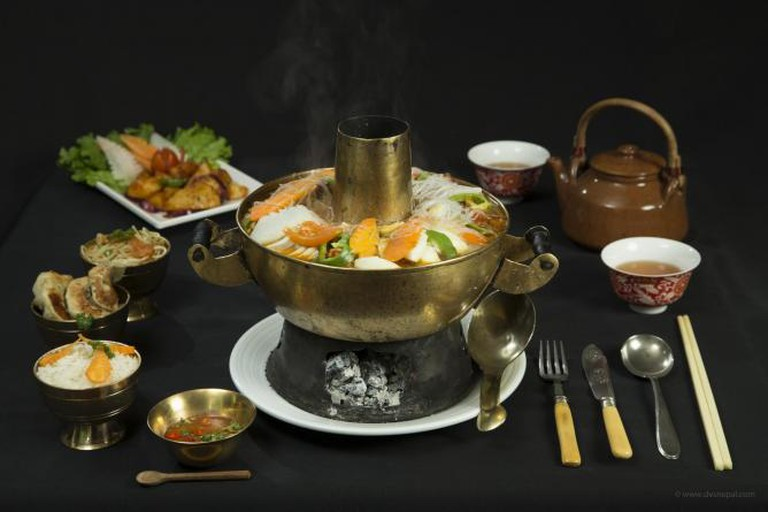 Utse Restaurant's Signature 'Gacok' Hot Pot | © Utse