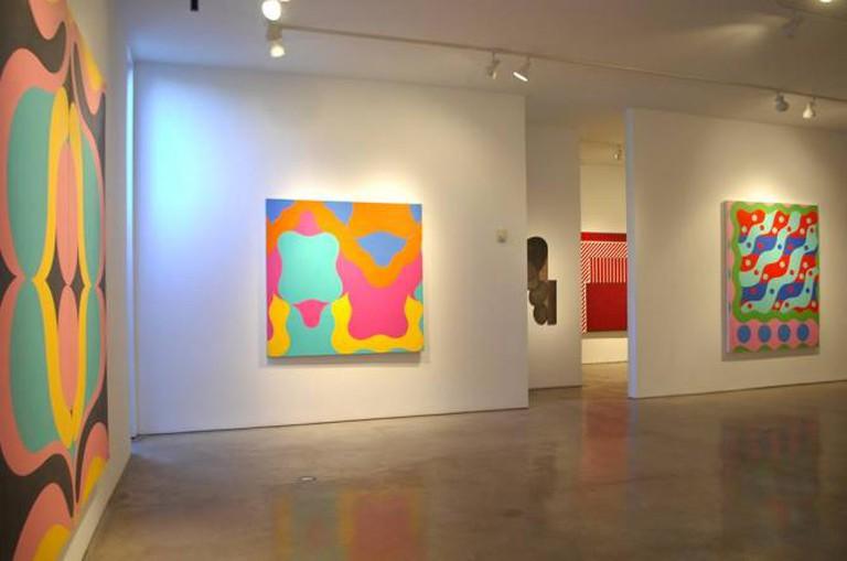 Dan Gorski, Hard-Edge Then/Now at Wade Wilson Art   © Wade Wilson Art