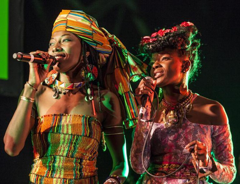 Shingai and Fatoumata Diawara © John Sturrock