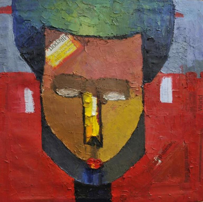 Duke Asidere 'A writer for corrupt politicians' | Courtesy of Aa.bru Art