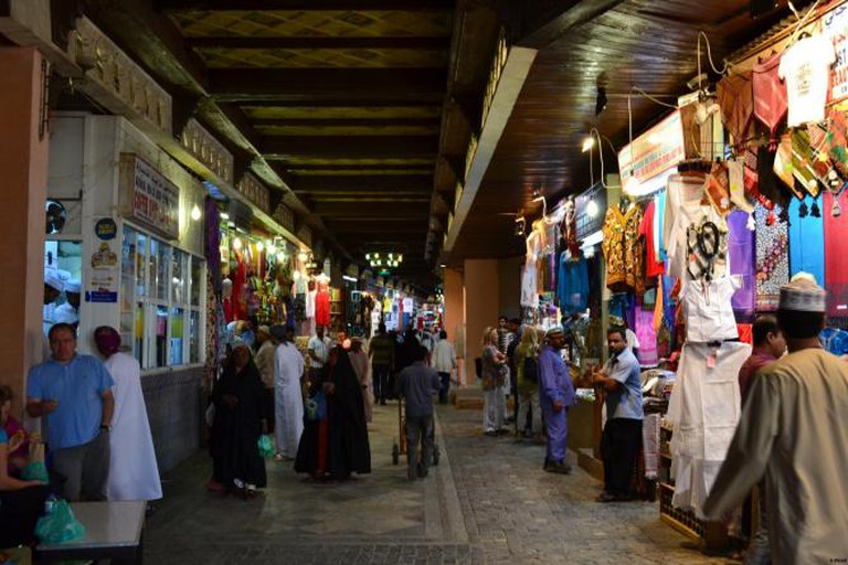 Souk Muttrah-Alley