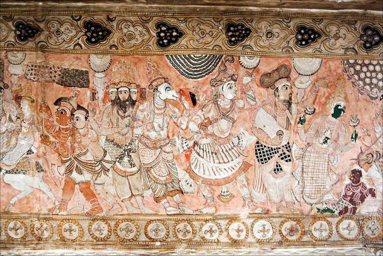 Lepakshi Temple Ceiling