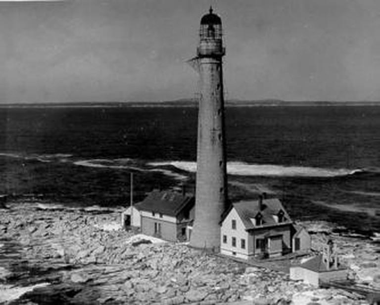 Boon Island Lighthouse | © U.S. Coast Guard/WikiCommons
