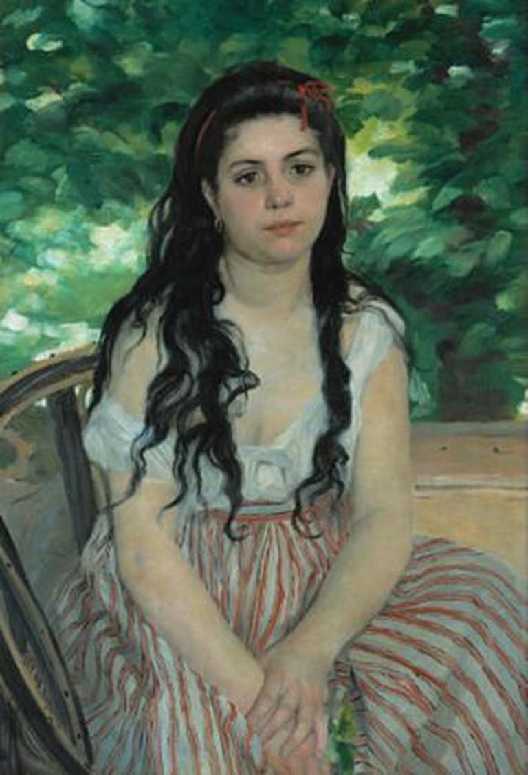 Auguste Renoir, En été - La bohémienne | Google Art Project