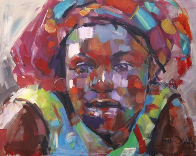 Patrick Kinuthia, Giriama   Courtesy Banana Hill Art Gallery