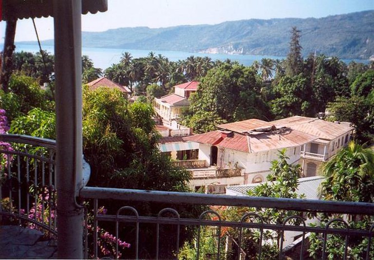 A View of Jacmel, Haiti