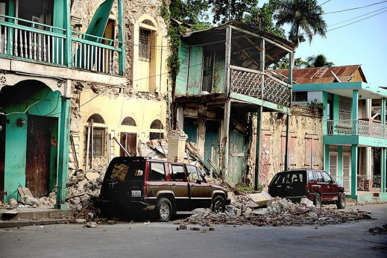 Devastation in Jacmel