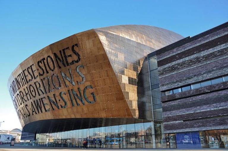 Wales Millennium Centre © Gordon Plant/WikiCommons