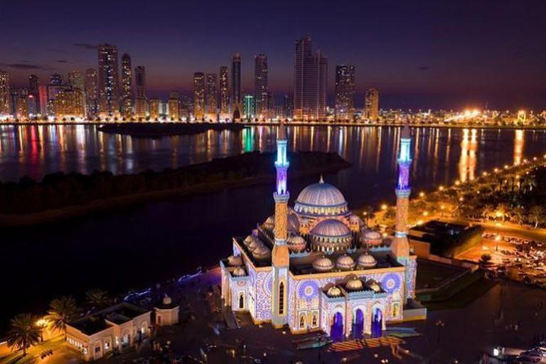 Sharjah Light Festival As Noor Masjid