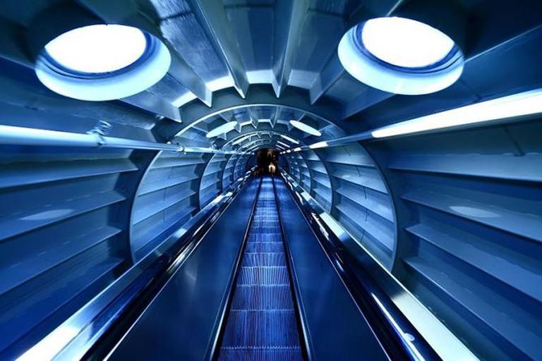 Atomium Escalator