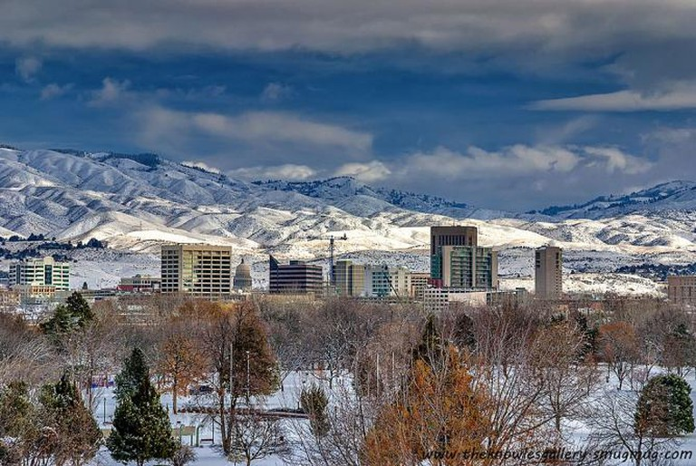 Snow-covered town of Boise, Idaho | © Charles Knowles/WikiCommons