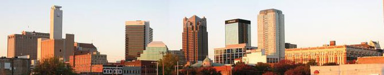 Birmingham skyline, Alabama