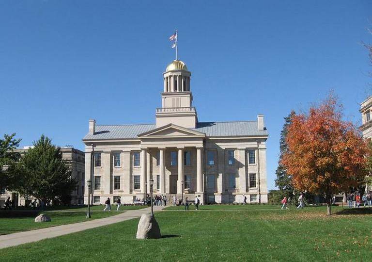 Old Capitol, Iowa City   © Billwhittaker/WikiCommons