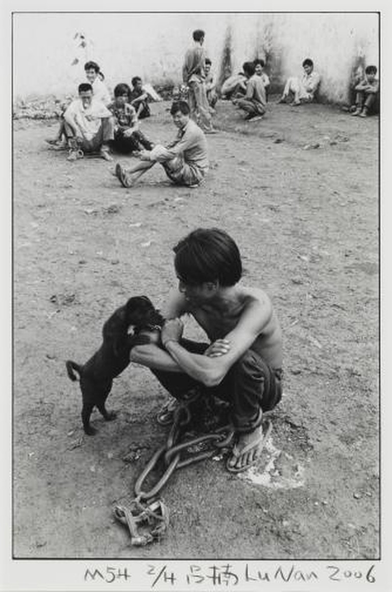 No.54 Boy with Dog Lu Nan