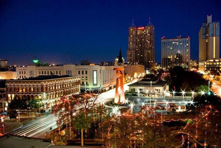 Christmas Lights San Antonio Texas
